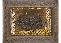 hat (bronze relief) by yayoi kusama