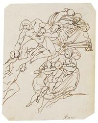 mythologische szenen (2 dbl-sided works) by bonaventura genelli