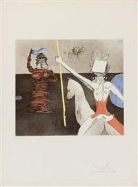 aus: historias de don quijote de la mancha by salvador dalí