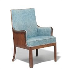 easy chair with sides by frits henningsen