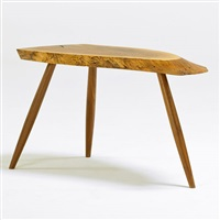 side table by mira nakashima-yarnall