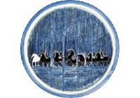 equitation en sous-bois by andré brasilier