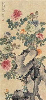 富贵牡丹 by tang shishu