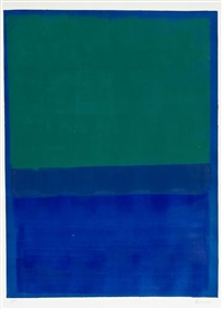 senza titolo n° 10 by mark rothko