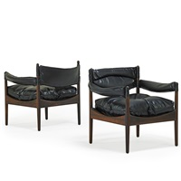 modus lounge chairs (pair) by kristian solmer vedel