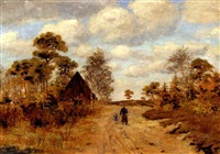 weg in der heide by franz nölken