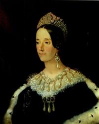portrait einer hochadeligen dame mit reichem perschmuck by john hall