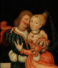 liebespaar by lucas cranach the elder