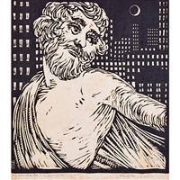 the great orcy (from song of the broad axe) by wharton h. esherick