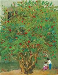 a tree in the li village (ii) by wu guanzhong