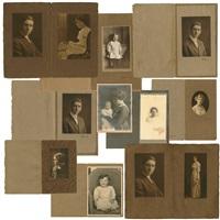 group of 12 prints by edward weston
