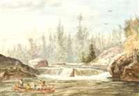canoeing by william wallace armstrong