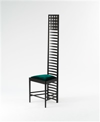 stuhl hillhouse chair 292 by charles rennie mackintosh