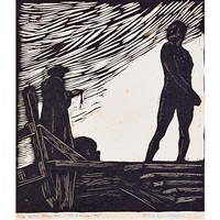 the headsman; the forger; best-bodied mothers (from song of the broad axe) by wharton h. esherick