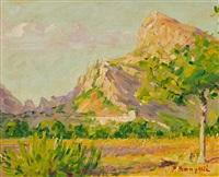 paisaje de mallorca by pere isern alié