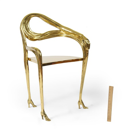 sillon leda chair by salvador dalí