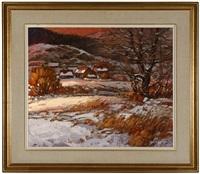 l'hiver au mont tremblant by littorio del signore
