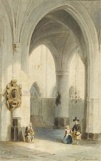 inneres einer holländischen kirche by johannes bosboom