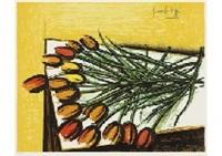bouquet of turips by bernard buffet