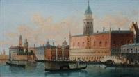 doge's palace, venice by h. garnier