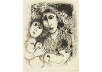 sortilège by marc chagall