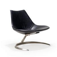 scimitar chair by preben fabricius and jørgen kastholm