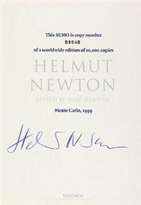 helmut newton sumo (bookholder designed by philippe starck) by helmut newton