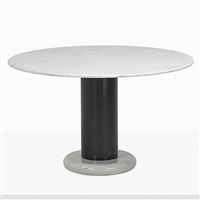 lotorosso dining table by ettore sottsass