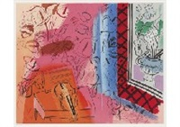 le violin (+ 2 others; set of 3) by raoul dufy
