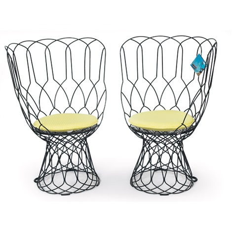 re trouve chairs pair by patricia urquiola