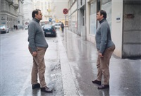 two ways of carrying a bomb by erwin wurm