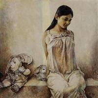 浴后 (after the bath) by liu derun