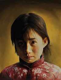 女孩 (girl) by liu derun