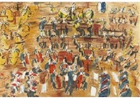 orchestra: from concert des anges (+ orchestra and diva: concert of angel; set of 2) by raoul dufy