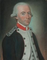 offizier aus der am 13. juli 1789 geschaffenen französischen nationalgarde by jean pierre grasson