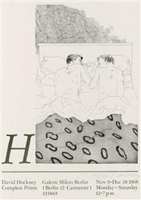 complete prints galerie mirko berlin by david hockney
