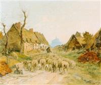 village de la rive by adrien gabriel voisard-margerie