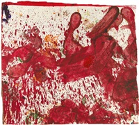 aktionsrelikt by hermann nitsch