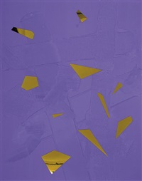 purple earth by anselm reyle