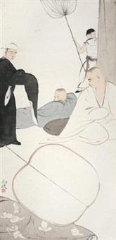 清凉处系列之六 by ma jun