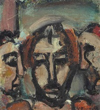 satan by georges rouault