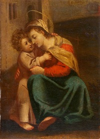 madonna mit christusknaben by pierre hubert subleyras