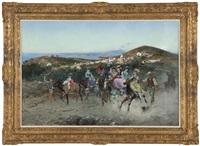 the donkey race by attilio simonetti