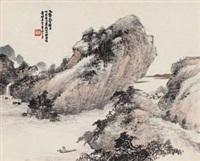 秋山独钓 by xiao junxian