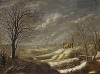 winterlandschaft by daniel van heil