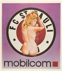 mobilcom-st. pauli i by mel ramos