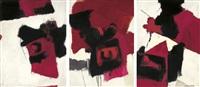 untitled (triptych) by chittrovanu mazumdar