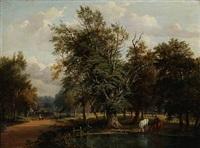 on putney heath, surrey by jane nasmyth