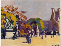 les tuileries by louis valtat
