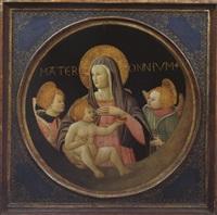 mater omnium. madonna mit kind und engeln by apollonio di giovanni di tommaso